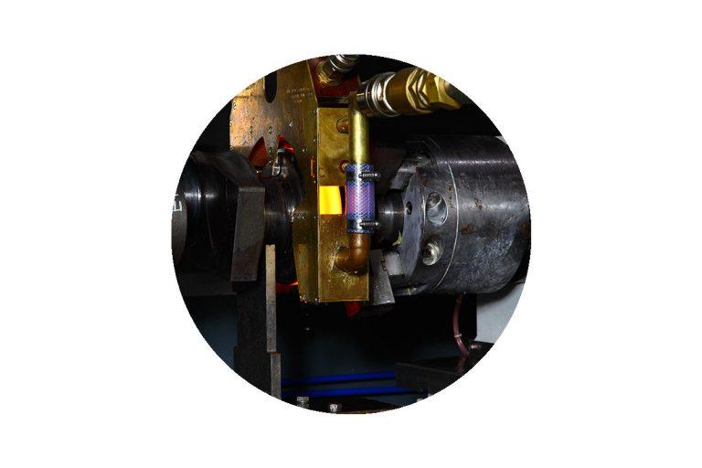GH Induction hardening of automotive crankshafts.